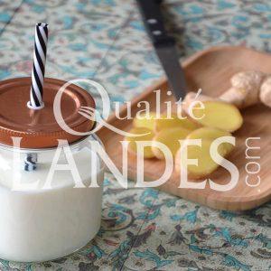 Recette de Gaspacho d'Asperge des Sables des Landes IGP et gingembre