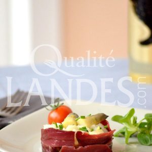 Recette de Salade d'Asperge des Sables des Landes IGP et magret fumé