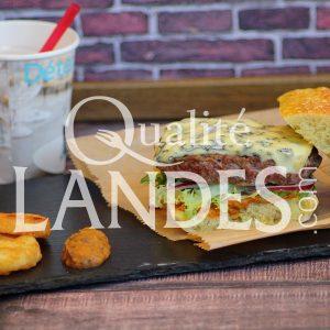 Recette de Burger de Boeuf de Chalosse et fourme d'Ambert