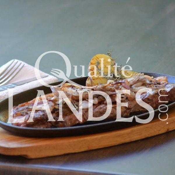 Recette de Faux filet de Boeuf de Chalosse aux échalotes