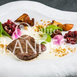Recette de Tournedos de Boeuf de Chalosse, légumes à la Landaise et crème de foin