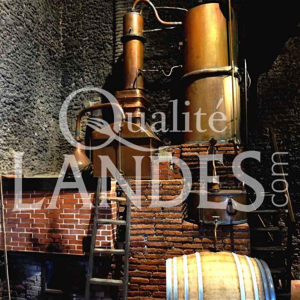 Distillation d'Armagnac AOC