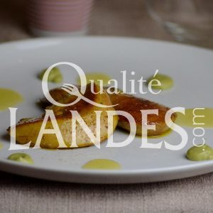 Recette de Foie gras de Canard Fermier des Landes poêlé, association originale : avocat et agrumes