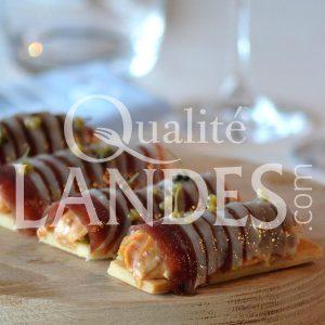 Recette de Mini tartelettes au magret séché et foie gras de Canard Fermier des Landes