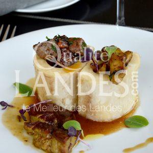 7B213-Os à moelle au Boeuf de Chalosse et foie gras©Qualité Landes - Chef Armando Nogeira la Villa Mirasol (1)