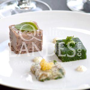 7B225-Terrine de Boeuf de Chalosse ©Qualité Landes - Chef Armando Nogeira La villa Mirasol (1)