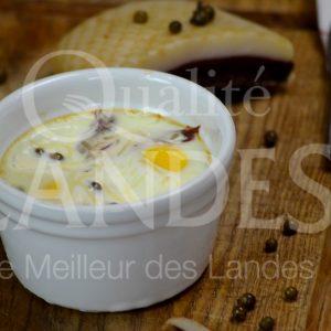 7B420-oeuf cocotte magret fumé de canard fermier des Landes © Qualité Landes (2)