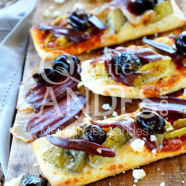 7B423-Pizza au magret de canard fermier des Landes séché ©Qualité Landes (1)