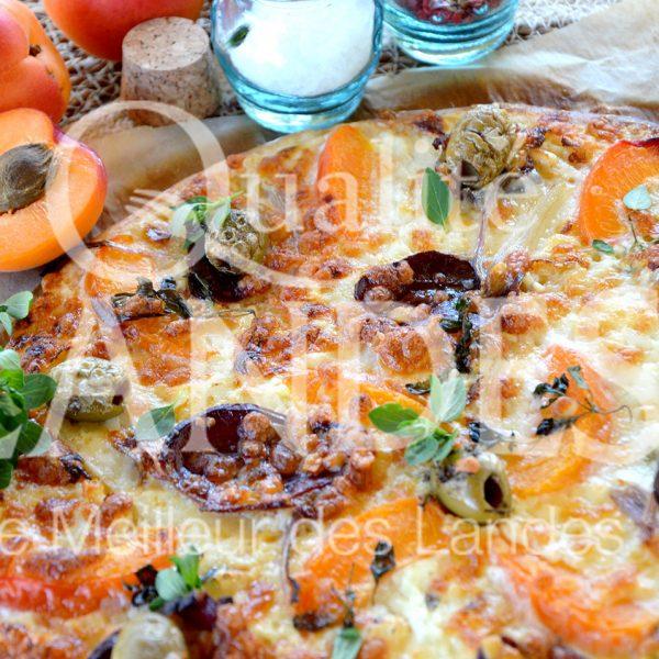 7B425-Pizza au magret de canard fermier des Landes fumé ©Qualité Landes (1)