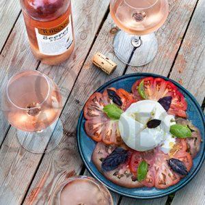 7C704 tursan rosé burrata©QL