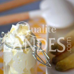 Recette d'Asperges des Sables des Landes IGP et chantilly au parmesan
