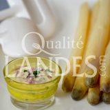 Recette d'Asperge des Sables des Landes IGP et sauce au yaourt et fines herbes