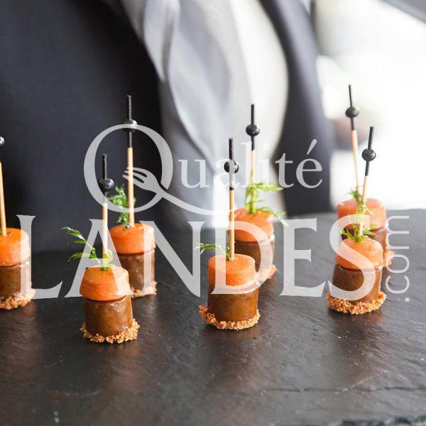 Recette de Boeuf de Chalosse - carotte revisité façon tapas