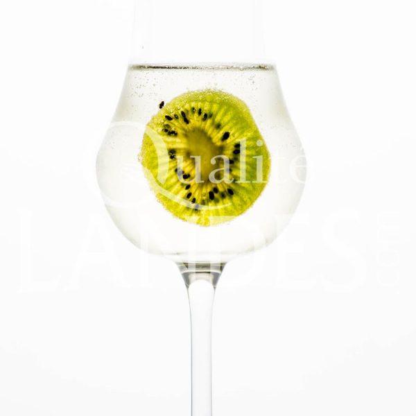 Recette de Cocktail Blanche d'Armagnac, limonade, Kiwi de l'Adour