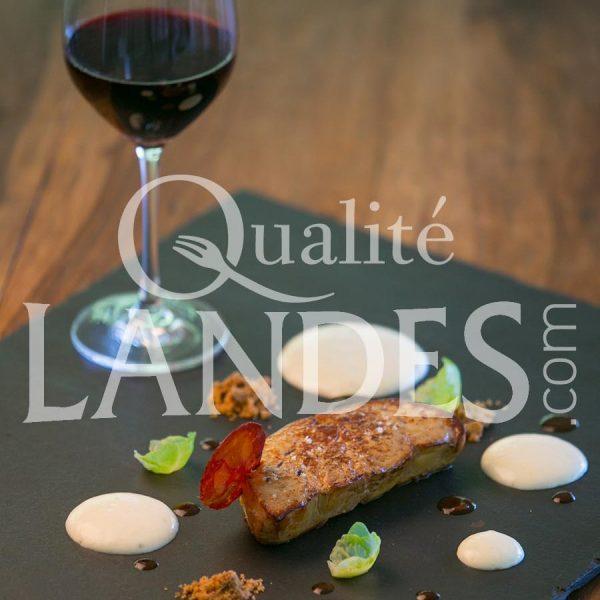 Recette d'Escalope de foie gras de Canard Fermier des Landes poélée