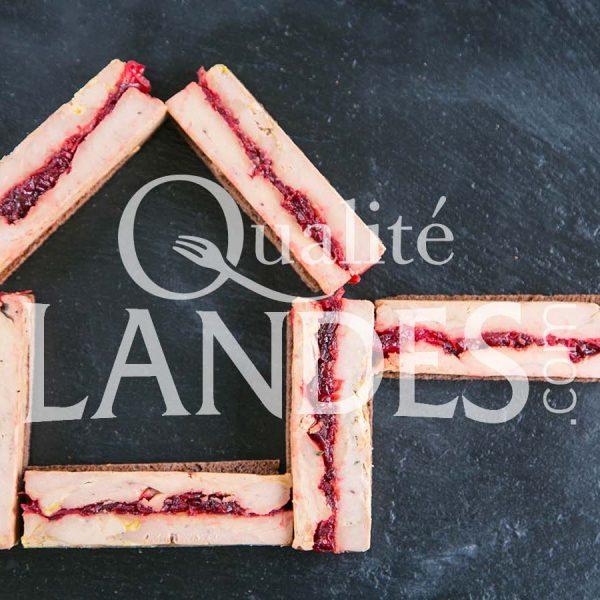 Recette de Foie gras de Canard Fermier des Landes aux 4 épices et confit d'oignons grenadine