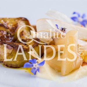 Recette de Foie gras de Canard Fermier des Landes, salsifis