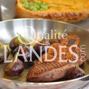 Recette de Magret de Canard Fermier des Landes et figues fraîches à la poêle, butternut fondant au four