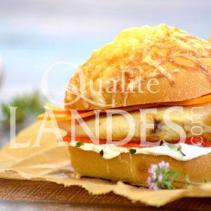 Recette de Burger de Poulet Fermier des Landes
