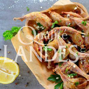 Recette de Cuisses de Cailles Fermières des Landes comme des cuisses de grenouille