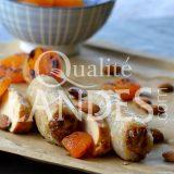 Recette de Nems de Poulet Fermier des Landes, amandes et abricots