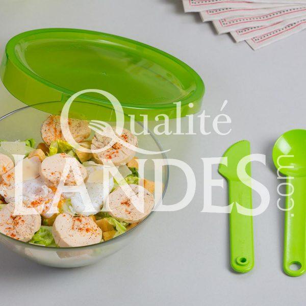 Recette de Salade césar au Poulet Fermier des Landes