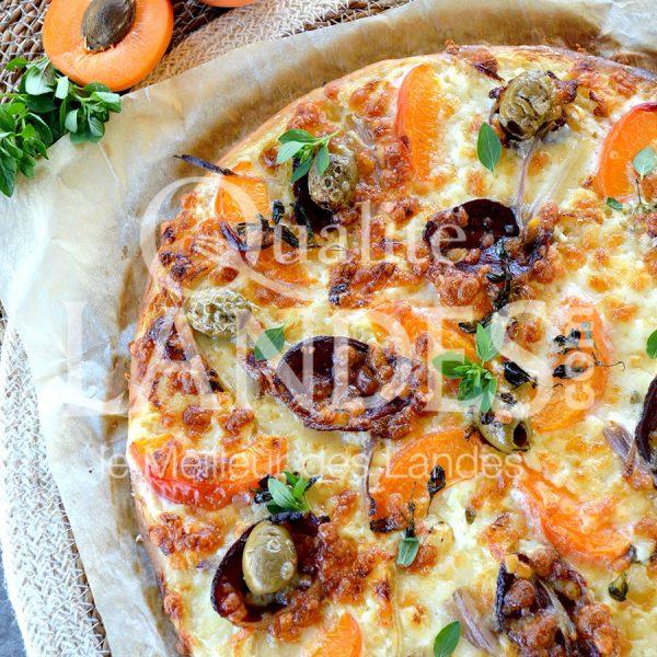 7B426-Pizza au magret de canard fermier des Landes fumé ©Qualité Landes (2)
