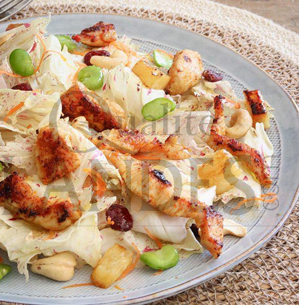 7D602 POULET salade exotiqueBD
