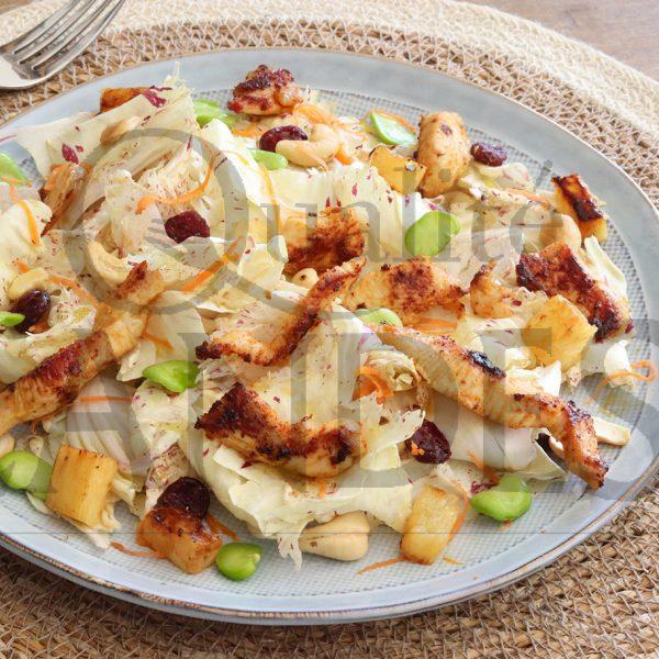 7D604 POULET salade exotiqueBD